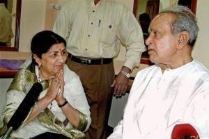 Panditji with Lata Mangeshkar