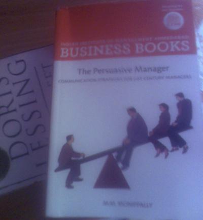 Persuasive Manager